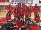 Granger Spartans Girls Varsity Volleyball Fall 17-18 team photo.