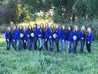 Snowflake Lobos Girls Varsity Volleyball Fall 17-18 team photo.