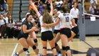 Cinco Ranch Cougars Girls Varsity Volleyball Fall 17-18 team photo.