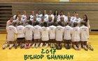 Bishop Shanahan Eagles Girls Varsity Volleyball Fall 17-18 team photo.