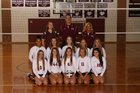 Woodridge Bulldogs Girls Varsity Volleyball Fall 17-18 team photo.
