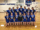 Newberry Panthers Girls Varsity Volleyball Fall 17-18 team photo.