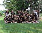 Greensburg Salem Golden Lions Girls Varsity Volleyball Fall 17-18 team photo.