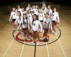 Perry Pumas Girls Varsity Volleyball Fall 17-18 team photo.