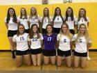 Ballston Spa Scotties Girls Varsity Volleyball Fall 17-18 team photo.