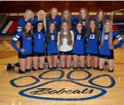 Panguitch Bobcats Girls Varsity Volleyball Fall 17-18 team photo.