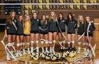 Boulder City Eagles Girls Varsity Volleyball Fall 17-18 team photo.
