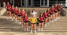 Capital Cougars Girls Varsity Volleyball Fall 17-18 team photo.