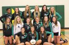 West Iredell Warriors Girls Varsity Volleyball Fall 17-18 team photo.