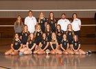 Cedarburg Bulldogs Girls Varsity Volleyball Fall 17-18 team photo.