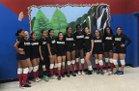 Passaic Indians Girls Varsity Volleyball Fall 17-18 team photo.