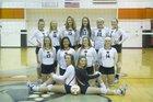 Waldron Bulldogs Girls Varsity Volleyball Fall 17-18 team photo.