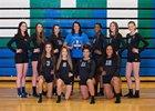 Mountain View Thunder Girls Varsity Volleyball Fall 17-18 team photo.