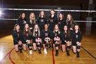 Mountlake Terrace Hawks Girls Varsity Volleyball Fall 17-18 team photo.