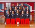 West Valley Rams Girls Varsity Volleyball Fall 17-18 team photo.