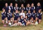 Rainier Christian Mustangs Girls Varsity Volleyball Fall 17-18 team photo.