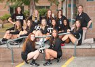 Kamiak Knights Girls Varsity Volleyball Fall 17-18 team photo.