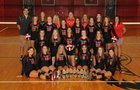 Pea Ridge Blackhawks Girls Varsity Volleyball Fall 17-18 team photo.
