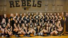 Crestview Rebels Girls Varsity Volleyball Fall 17-18 team photo.