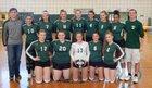 Hudson Falls Tigers Girls Varsity Volleyball Fall 17-18 team photo.