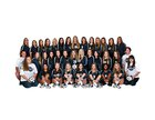 Greenwood Bulldogs Girls Varsity Volleyball Fall 17-18 team photo.