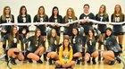 Pueblo County Hornets Girls Varsity Volleyball Fall 17-18 team photo.