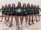 Strongsville Mustangs Girls Varsity Volleyball Fall 17-18 team photo.