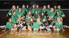 Cloverdale Clovers Girls Varsity Volleyball Fall 17-18 team photo.