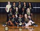 Ypsilanti Grizzlies Girls Varsity Volleyball Fall 17-18 team photo.
