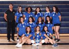 Lakeview Charter Lions Girls Varsity Volleyball Fall 17-18 team photo.