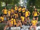 Brennan Bears Girls Varsity Volleyball Fall 17-18 team photo.