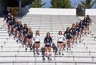 Bellevue Wolverines Girls Varsity Volleyball Fall 17-18 team photo.