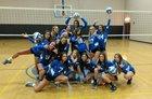 Mesquite Wildcats Girls Varsity Volleyball Fall 17-18 team photo.
