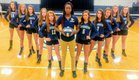 Westminster Catawba Christian Indians Girls Varsity Volleyball Fall 17-18 team photo.