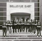 Bellevue East Chieftains Girls Varsity Volleyball Fall 17-18 team photo.