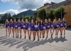 Issaquah Eagles Girls Varsity Volleyball Fall 17-18 team photo.