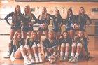 Bay Port Pirates Girls Varsity Volleyball Fall 17-18 team photo.