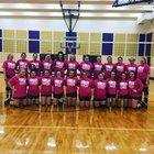 Booneville Bearcats Girls Varsity Volleyball Fall 17-18 team photo.