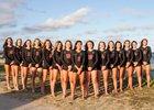 Ashley Screaming Eagle Girls Varsity Volleyball Fall 17-18 team photo.