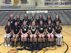Loogootee Lions Girls Varsity Volleyball Fall 17-18 team photo.