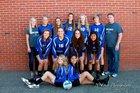 Elma Eagles Girls Varsity Volleyball Fall 17-18 team photo.