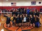 Divine Savior Academy Sharks Girls Varsity Volleyball Fall 17-18 team photo.