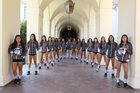 Gabrielino Eagles Girls Varsity Volleyball Fall 17-18 team photo.