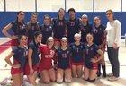 Revere Patriots Girls Varsity Volleyball Fall 17-18 team photo.