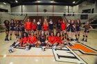 Malvern Leopards Girls Varsity Volleyball Fall 17-18 team photo.
