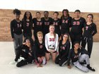 St. Joseph Chargers Girls Varsity Volleyball Fall 17-18 team photo.