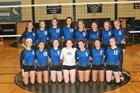 Millbrook Blazers Girls Varsity Volleyball Fall 17-18 team photo.