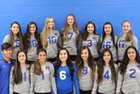 St. Michael's Horsemen Girls Varsity Volleyball Fall 17-18 team photo.