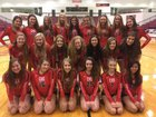 Cabot Panthers Girls Varsity Volleyball Fall 17-18 team photo.