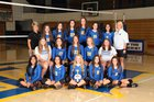 Mountain Home Bombers Girls Varsity Volleyball Fall 17-18 team photo.